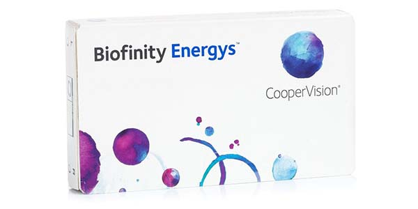 Biofinity Energys (3 pack)